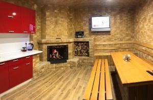Кухня или мини-кухня в Elbrusiya