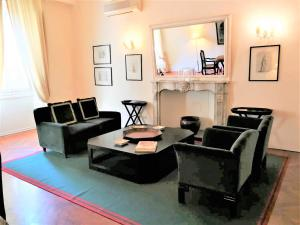 Zona de estar de Cerretani 4 Duomo Guesthouse - My Extra Home