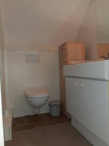 Salle de bains dans l'établissement La Naturelle Duplex123