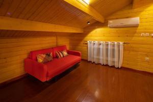 Khu vực ghế ngồi tại Welf Resort