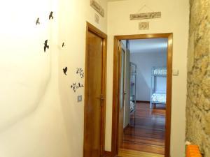 A bathroom at Albergue Convento Del Camino
