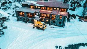 Boonoona Ski Lodge during the winter