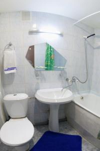A bathroom at Severnye Zori Hotel