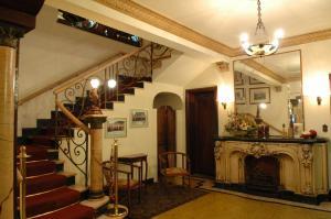 The lobby or reception area at Tamareiras Park Hotel