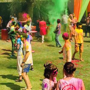 Children staying at Hostel Lumb's Nest Jaipur