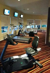 The fitness center and/or fitness facilities at Sedona Springs Resort, a VRI resort