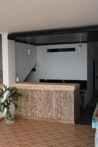 Hall ou réception de l'établissement Alur Beach Homestay