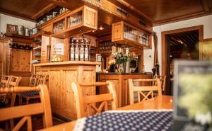 The lounge or bar area at Gasthof Adler