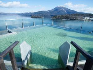 The swimming pool at or near Akan Yuku no Sato Tsuruga