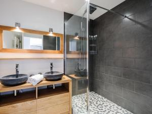 A bathroom at Appart Coeur de Lyon - Part Dieu - Paul Bert