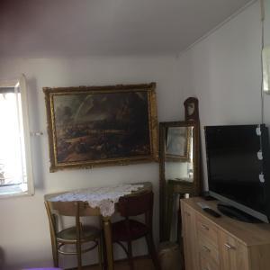 Телевизор и/или развлекательный центр в Apartments Antonio Premi
