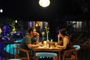 Restoran atau tempat makan lain di Ocean Terrace Suite And Spa Luxury