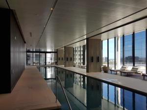 The swimming pool at or near Luxury at the Paris end of Collins st