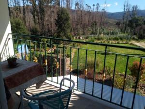 A balcony or terrace at Casa Gaia
