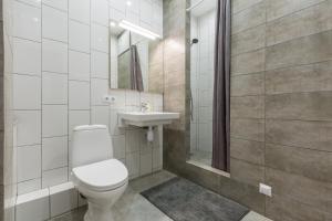 Ванная комната в Guesthouse MyInn