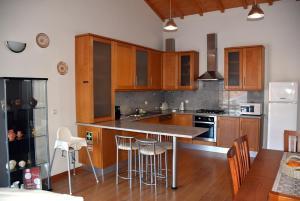 A kitchen or kitchenette at Casa do Outeiro