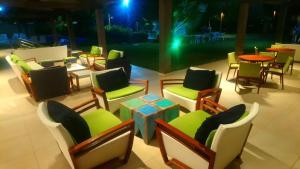 Um restaurante ou outro lugar para comer em Flat Malawi resort dream