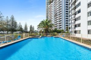 The swimming pool at or near Sandpiper Broadbeach