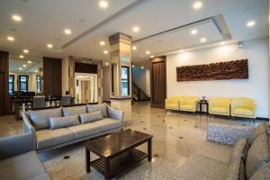 Zona de estar de Alisa Hotel