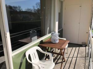 Balcon ou terrasse dans l'établissement Appartement Dishoek