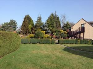 A garden outside Ashcroft Farmhouse