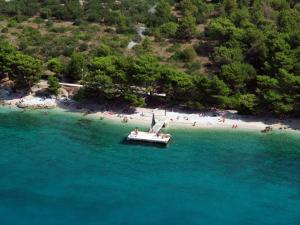 Letecký snímek ubytování Mobile Homes Camp Baško Polje - Adriatic Kampovi