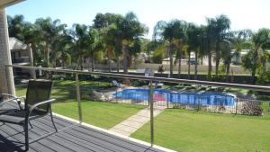A view of the pool at ELSINOR Townhouse 7 Mulwala or nearby