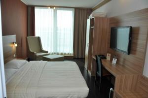 Letto o letti in una camera di Star Inn Hotel Wien Schönbrunn, by Comfort