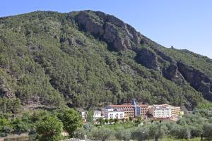 A bird's-eye view of Hotel SPA TermaEuropa Balneario Arnedillo
