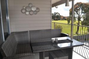 A balcony or terrace at Waterview- Stoneleigh at Yarra