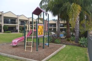 Children's play area at ELSINOR Townhouse 8 Mulwala