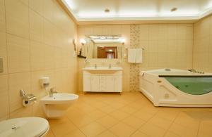 Ванная комната в Le Vashoff Отель