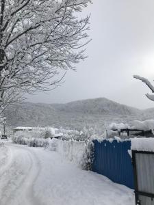 Udacha Guesthouse зимой