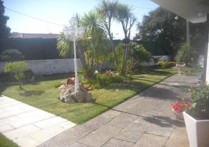 A garden outside Casa Teresinha