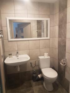 A bathroom at Noclegi i Parking u Andrzeja