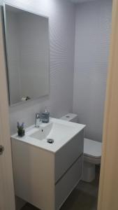 A bathroom at SAUCES Alojamiento con PARKING-GRATIS