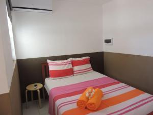 Cama ou camas em um quarto em Bonita Rancho 2