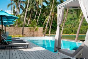 The swimming pool at or near Avani+ Samui Resort