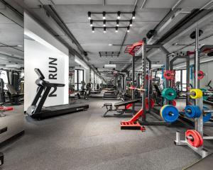 Фитнес-центр и/или тренажеры в Moskovskaya gorka by USTA Hotels