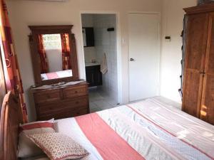 Cama ou camas em um quarto em Quinta Villa