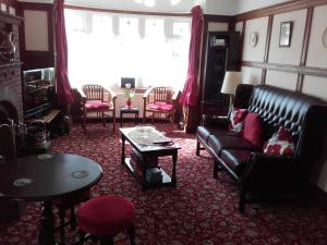 A seating area at Clumber House Hotel