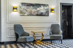 Зона вітальні в Grand Hotel Roxolana