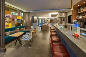 A restaurant or other place to eat at Hampton by Hilton Berlin City West