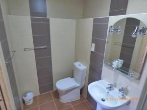 A bathroom at Quinta dos Templários
