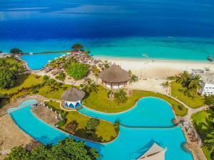 Een luchtfoto van Royal Zanzibar Beach Resort