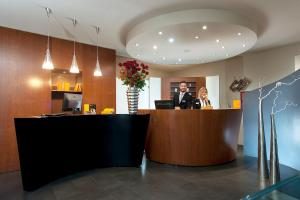 The lobby or reception area at Metropolis - Hotel di Charme