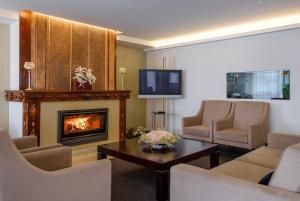 Гостиная зона в Hotel Regina