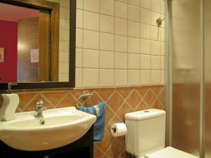 Un baño de Casa Rural Erburu