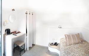 Χώρος καθιστικού στο Ξενοδοχείο Τατάκη