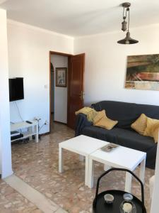 A seating area at Tavira Castelo-center-2 bedrooms
